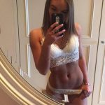 Istanbul VIP escort kızlar chick Vasilisa takes a pic of her in the mirror