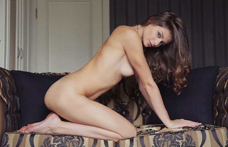 Escort service in Istanbul proudly introduces you Kamilina – a luxurious nude brown-haired woman
